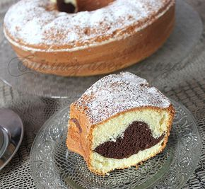 Mouskoutchou au chocolat marbré facile