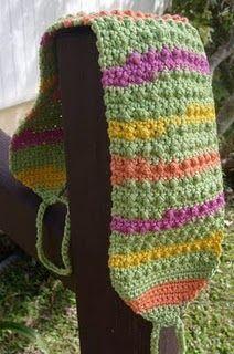 crochet back scrubber