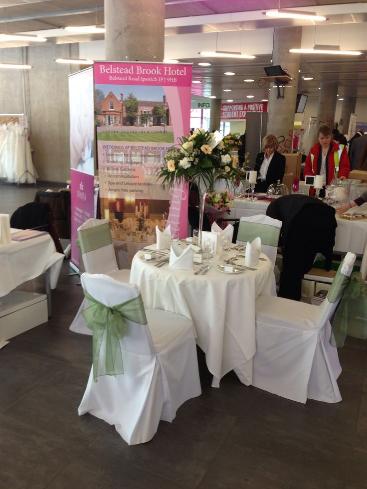 Wedding fayre for Belstead Brook hotel.
