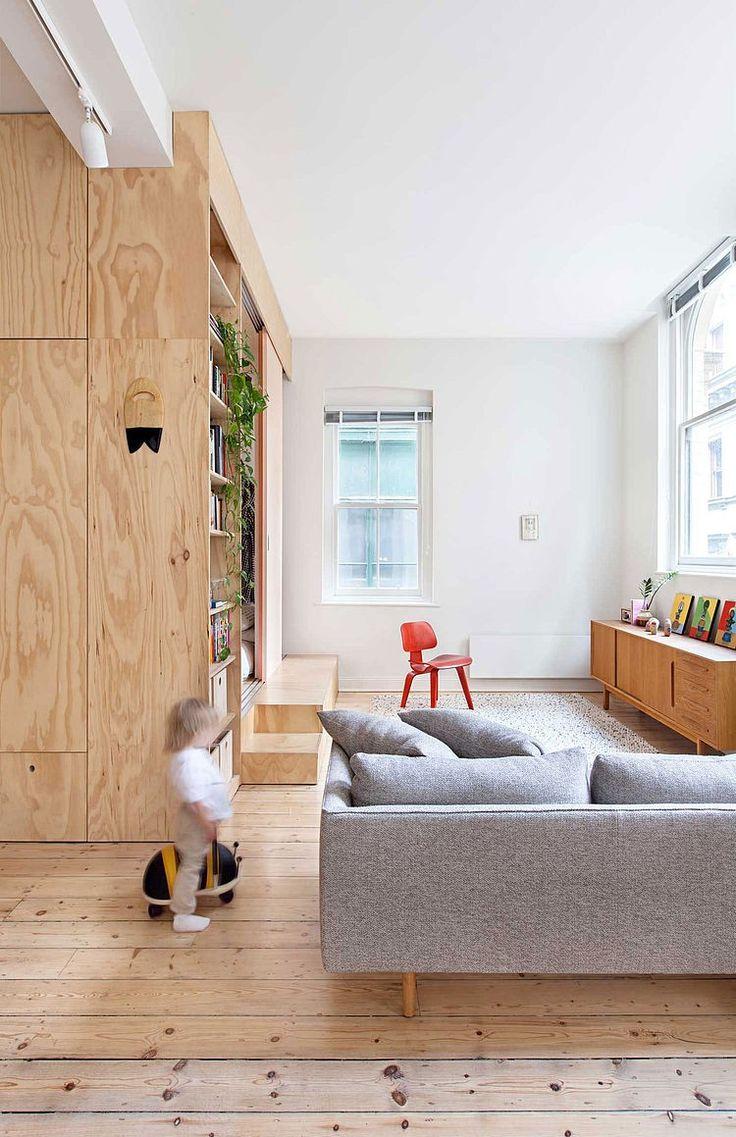 Flinders Lane Apartment by Clare Cousins Architects - http://designyoutrust.com/2014/09/flinders-lane-apartment-by-clare-cousins-architects/