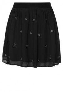 Carmakoma HARLOW Spódnica plisowana czarny