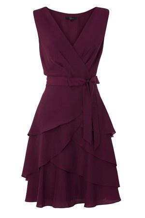 Anthocyanin wine color dresses