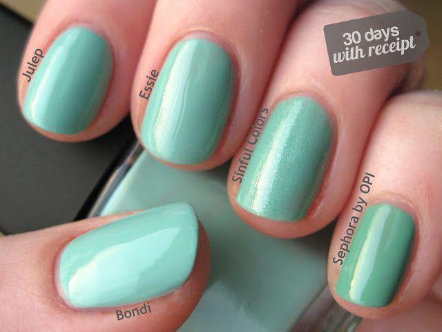Mejores 89 imágenes de Nail Art en Pinterest | Arte de uñas, Azul ...