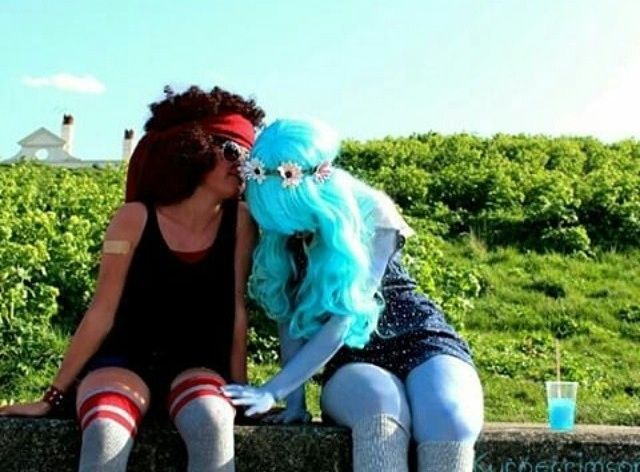 Ruby and Sapphire from Steven Universe Cosplay