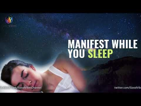 Manifest While You Sleep ♬ Manifest Your Heart's Desire