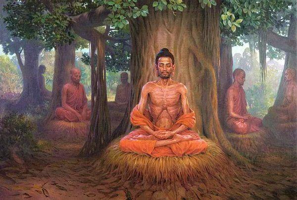 ภาพพระพ ทธเจ าวาดแบบประเทศอ นเด ย Buddha Painting Buddha Art Buddha Art Painting