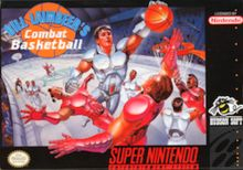 Bill Laimbeer's Combat Basketball - futuristic basketball game released in 1991 by Hudson Soft for the Super Nintendo. It was the first basketball game released for the SNES. The game stars Bill Laimbeer, who played for the Detroit Pistons of the NBA during that time.