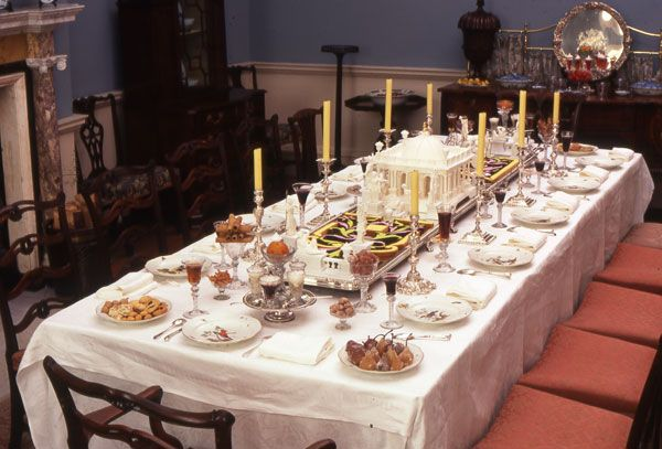 18th Century Table Setting | French, Victorian and The o'jays