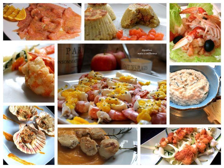 Le Blumirtillo #rulez sono davvero poche. L'obiettivo è star bene in compagnia con una cucina #nostress. Qui solo antipasti di pesce.