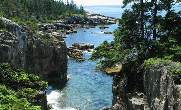 Acadia National Park is located where the Cadillac Mountains meet the Bay of Fundy. (From: Photos: Your Picks for 15 Places Every Kid Should See)