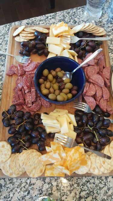 Premier Jewelry Party snacks