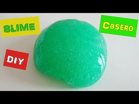Cómo hacer slime casero blandiblu