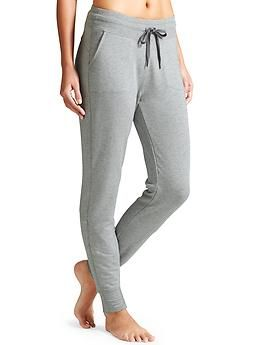 Coaster Pant - The supreme softness of stretchy French terry in a lounge-worthy style.