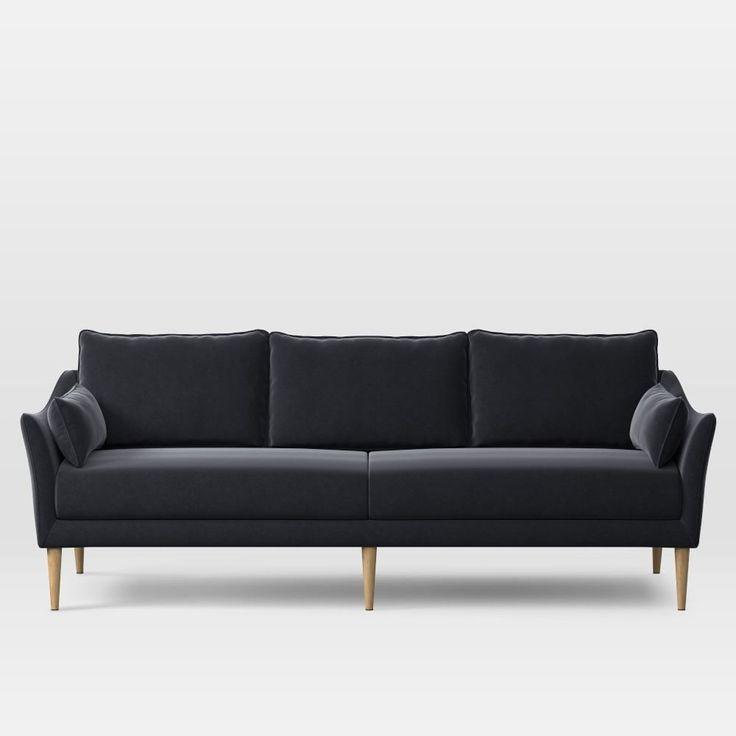 Antwerp Sofa (226 cm) - Shadow