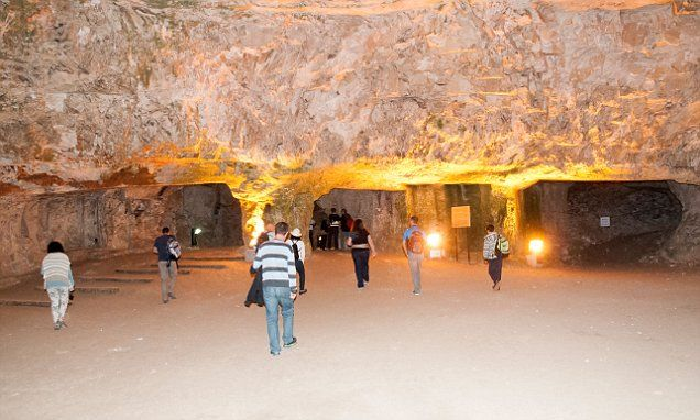 Jerusalem syndrome, mental phenomena where visitors are seized by a sudden religious psychosis induced by their close proximity to holy landmarks. tourist arrested after spending night in cave on 'treasure hunt'
