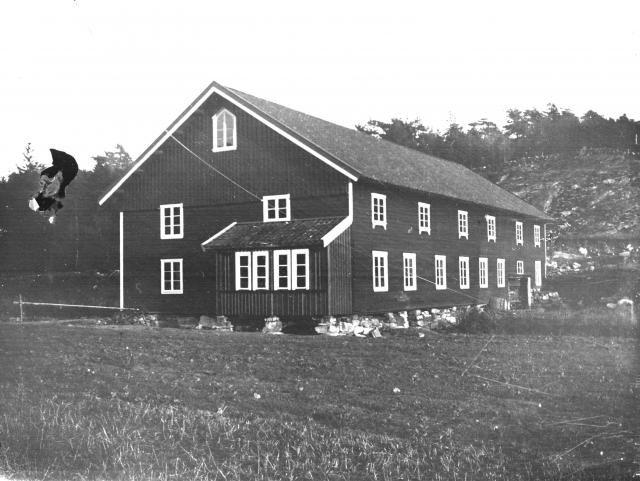 Ladugården i Nordgård  (Möllers) Lilla Askerön 1915