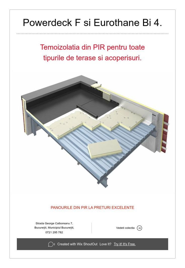 Now in Romania- Powerdeck F si Eurothane Bi 4.