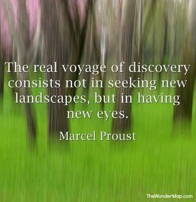 Motivational quotations - Marcel Proust - click for more