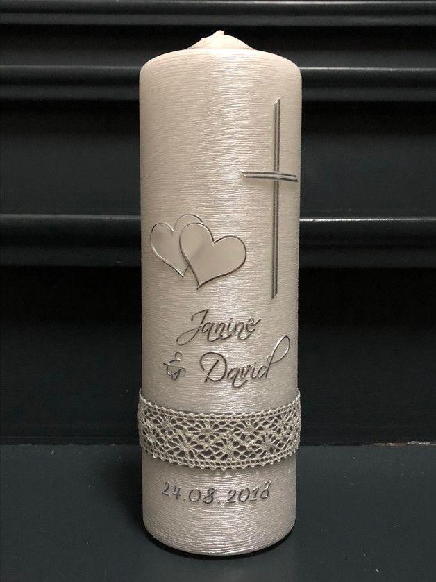 """**Die Hochzeitskerze spricht: """"Lasst an Eurem Hochzeitstag eine Kerze brennen. S…"""