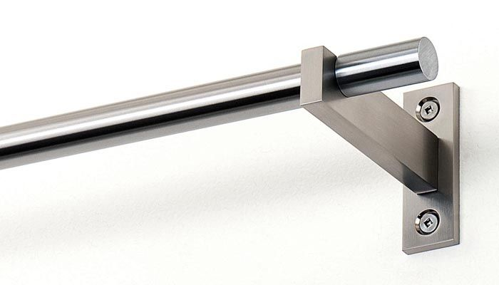 Stainless Steel Curtain Rod Brackets - Buy Stainless Steel Curtain ...