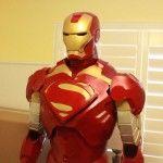 Really Cool Home Made Iron Man Helmet and Armor | Iron Man Helmet Shop