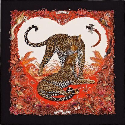 La Maison des Carrés Hermès   Jungle Love