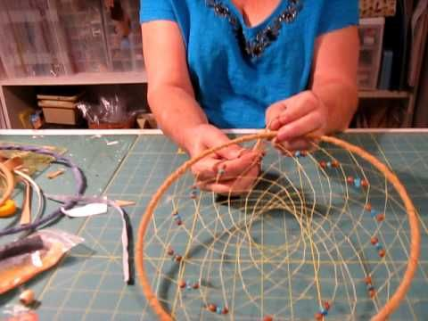 dream catcher. I used to make these all the time. Learned how at the Native American Museum in L.A. County.