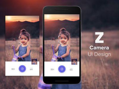Z Camera UI Design