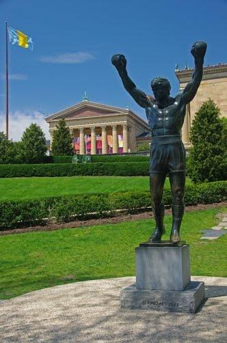 Rocky Balboa Statue at the Art Museum, Philadelphia PA