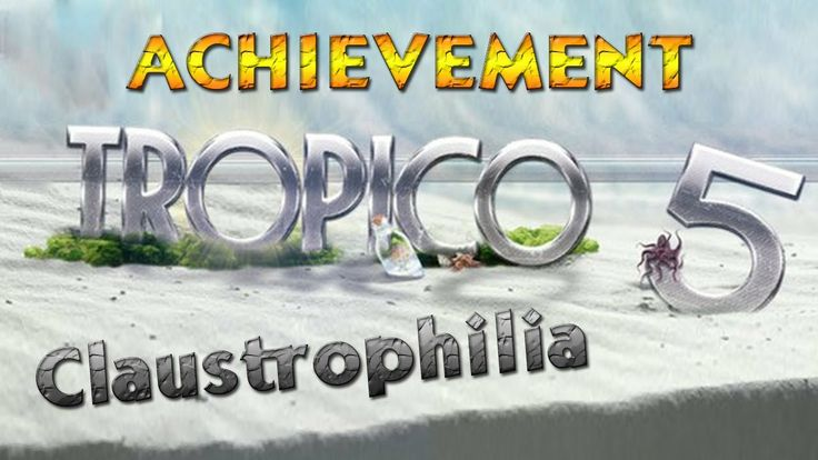 This is Claustrophilia achievement in Tropico 5. To unlock this achievement you have to win a Sandbox game on a Tiny island ! #Tropico5 #Tropico