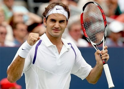 I've been fortunate enough to see Roger Federer live - and his sheer presence and skill never fails to amaze me.