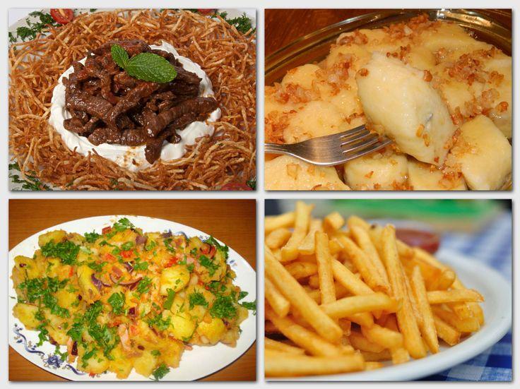 A 11 legjobb étel burgonyából! Frissen sülve az igazi!