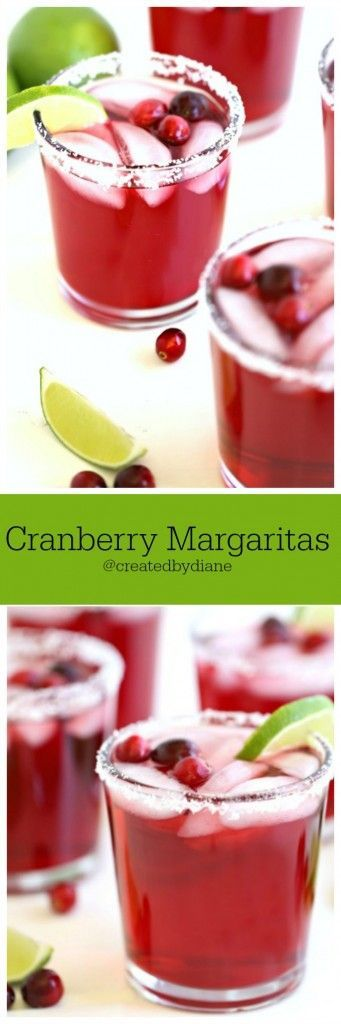 cranberry margarita recipes @createdbydiane