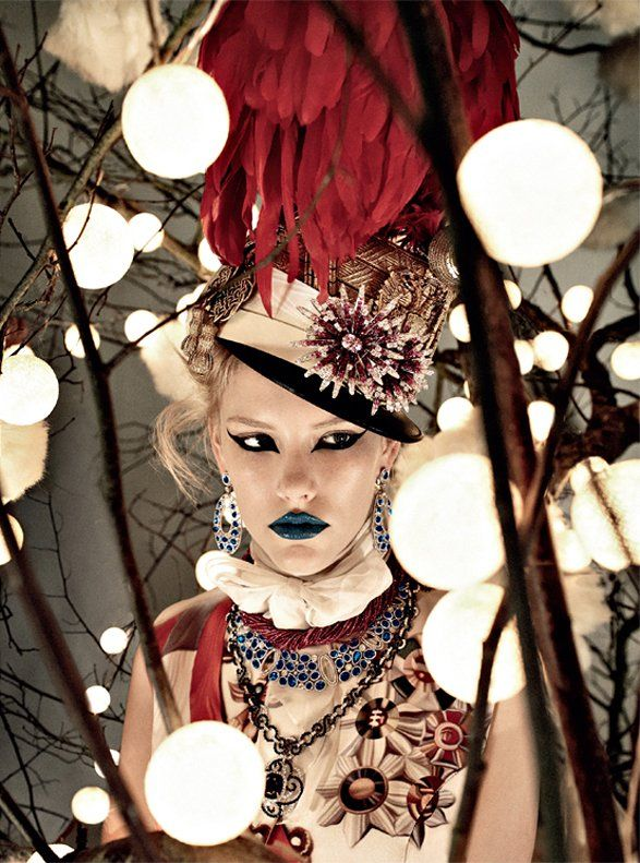 This will be my makeup when I become a general in a post apocalyptic moulin rouge army