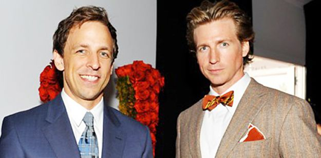 THERE'S TWO OF THEM. | Seth And Josh Meyers Are The Most Flawless Brothers Ever
