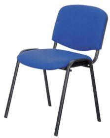 Chaise de reunion Niceday Bleu par Office Depot