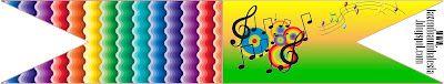 Imprimibles de notas musicales 2.