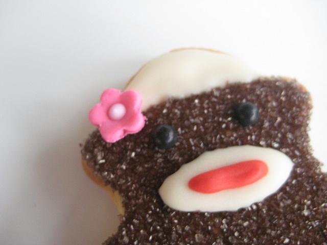 Sock Monkey cookie!: Sock Monkeys, Monkey S Rock, Photo, Monkey Cookie