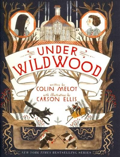 Under Wildwood is the second book in the New York Times bestselling adventure series the Wildwood Chronicles from Colin Meloy, lead singer of the Decemberists, and Carson Ellis, the acclaimed illustra