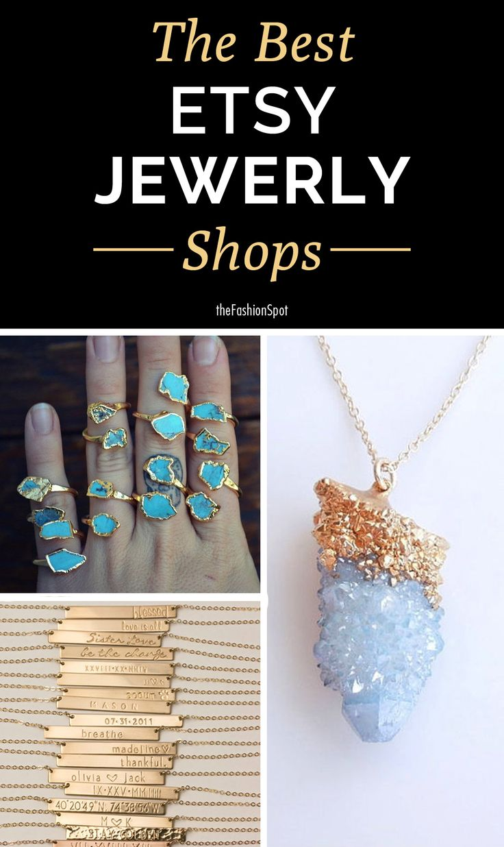 The best jewelry shops on Etsy