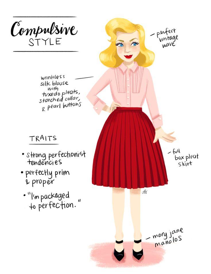 compulsive style