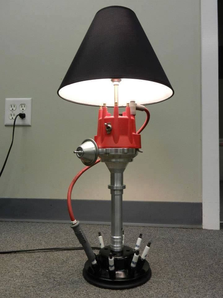 Man Cave Light Distributor Lamp Auto Furniture