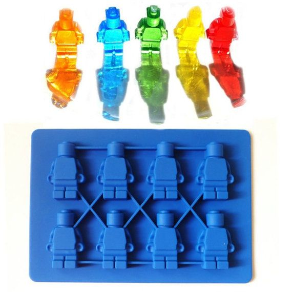 Set of two Lego Molds Minifigs Minifigures by abigailshopedesigns