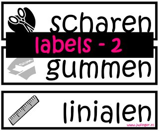 Juf Inger: Labels 2