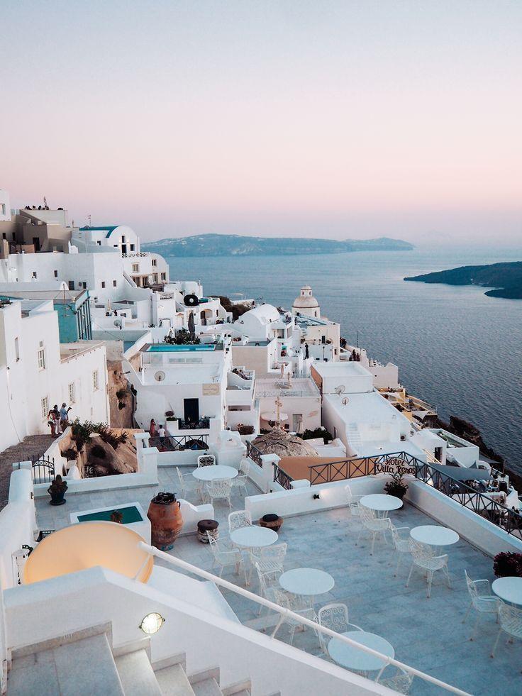 Diário de viagem: estação quente gen Santorini #on # temporada # diário de viagem # …   – Haus