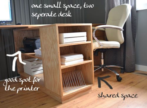 Best 25 home office images on pinterest desks diy computer desk eco office large bookshelf made with purebond formaldehyde free plywood diy projects solutioingenieria Image collections