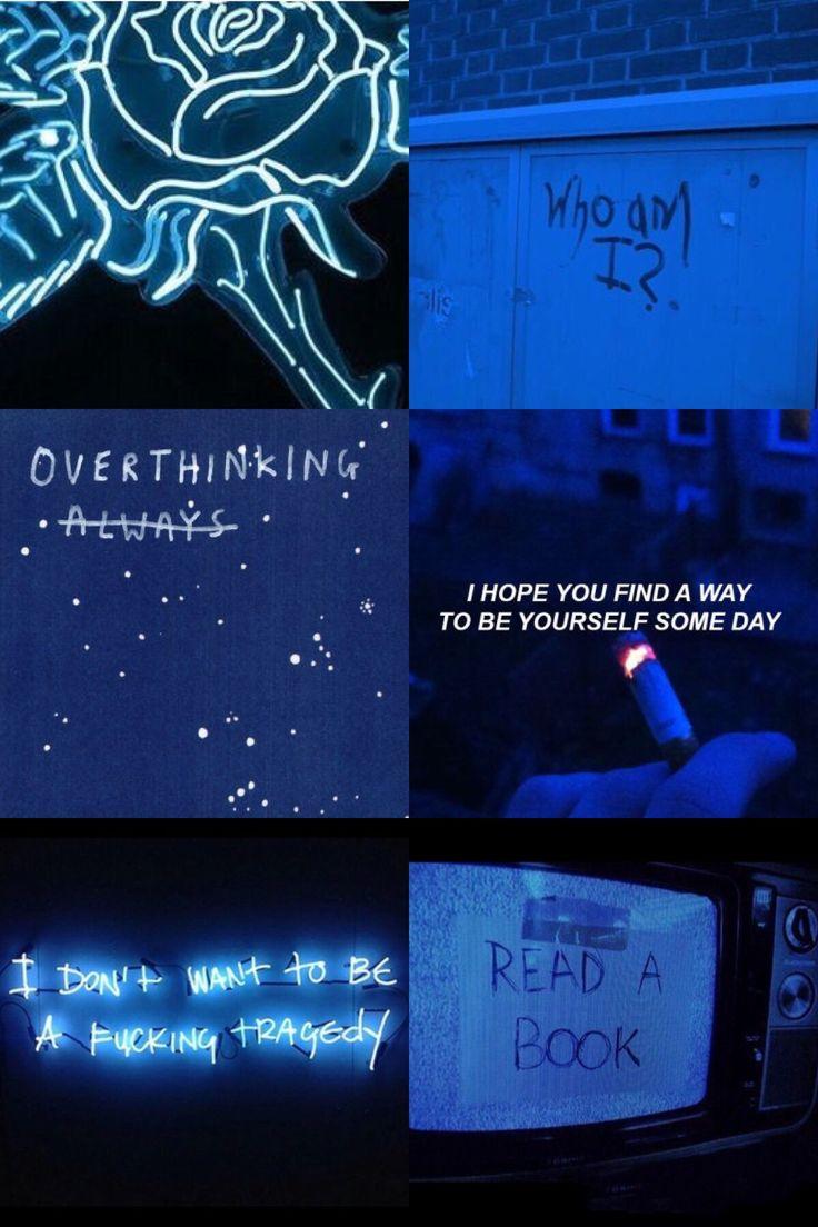 dark blue aesthetic   Blue aesthetic, Aesthetic colors ...