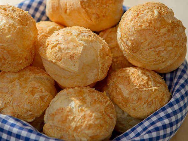 Pão de queijo.                                                                                                                                                                                 Mais