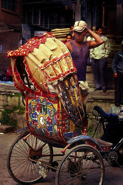 Bangladesh Rickshaw by babasteve, via Flickr