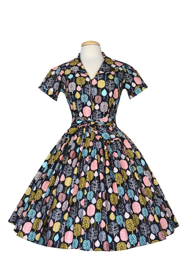 Bernie Dexter - Lauren Dress in Fall For You print